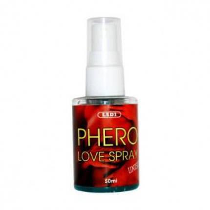 Концентрат феромонов LSDI PHERO Love spray, 50 мл , фото 2