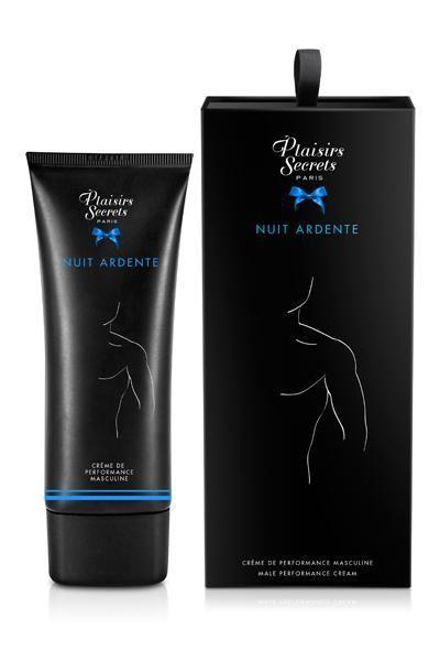 Крем для ерекції Plaisirs Secrets Male Performance Cream Nuit Ardente, 60 мл