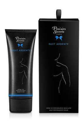 Крем для ерекції Plaisirs Secrets Male Performance Cream Nuit Ardente, 60 мл, фото 2