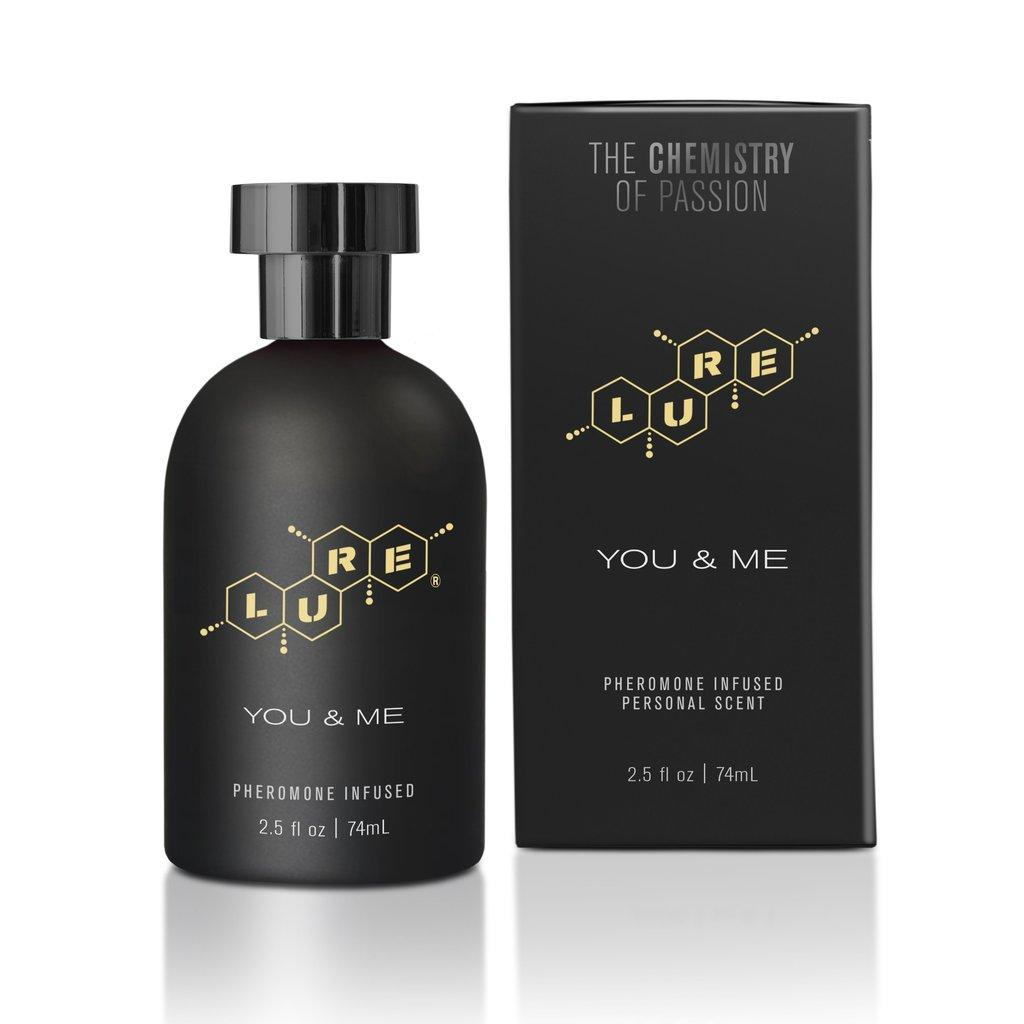 Духи с феромонами для пар Lure® Black Label You & Me, Pheromone Personal Scent, 74 мл