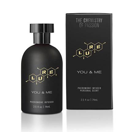 Духи с феромонами для пар Lure® Black Label You & Me, Pheromone Personal Scent, 74 мл , фото 2