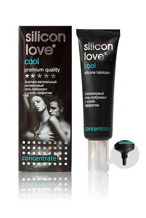 """Гель-лубрикант с охлаждающим эффектом """"Silicon Love Cool"""", 30 г , фото 2"""