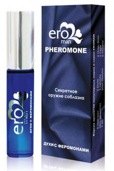 """Мужские духи с феромонами """"EROMAN №1"""", флакон ролл-он, 10 мл , фото 2"""