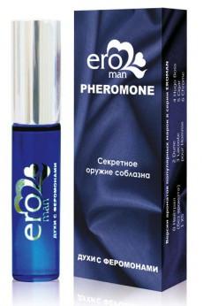 "Мужские духи с феромонами ""EROMAN №4"" Hugo Boss, 10 мл"