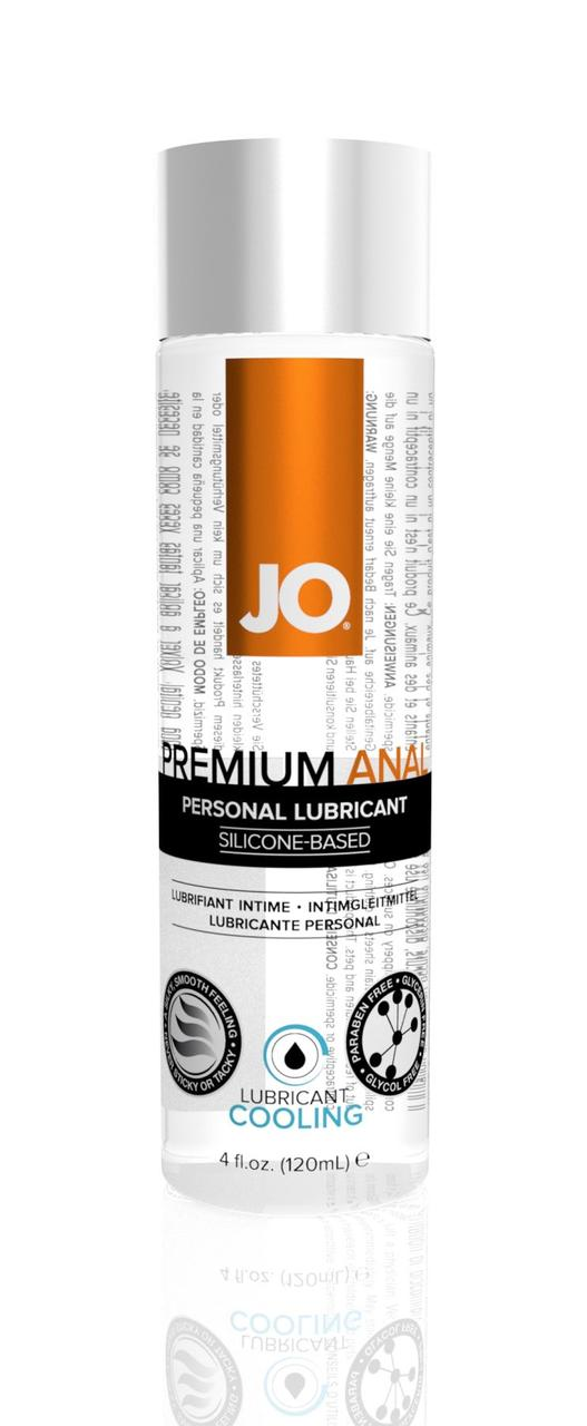 Лубрикант на силиконовой основе System JO Anal Premium Cooling, 120 мл