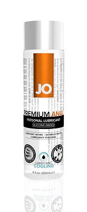 Лубрикант на силиконовой основе System JO Anal Premium Cooling, 120 мл, фото 2