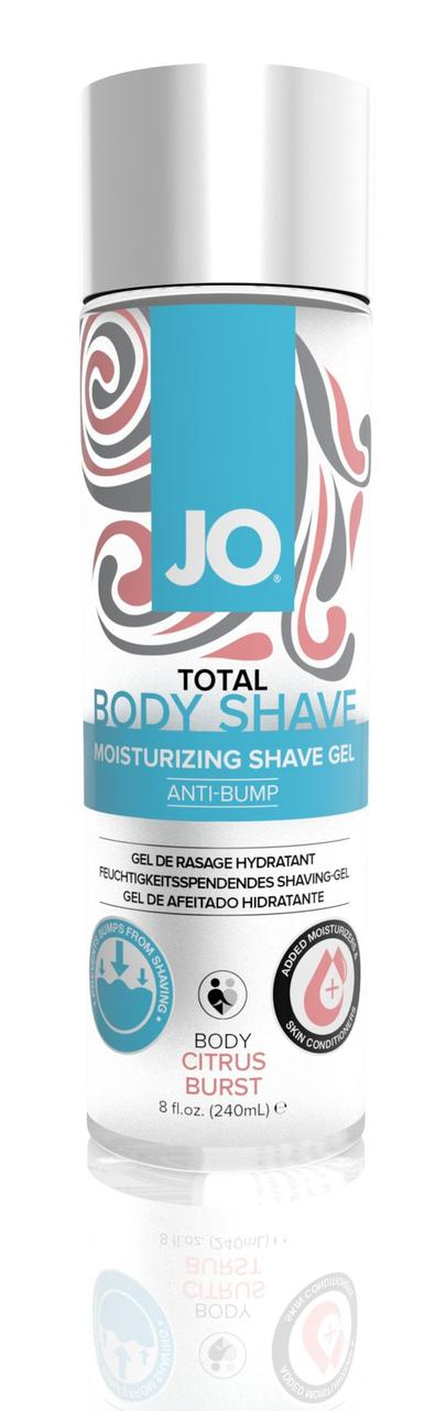 Гель для бритья System JO Total Body — Anti-Bump Intimate Shaving Gel Citrus, 240 мл