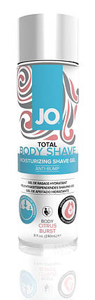 Гель для бритья System JO Total Body — Anti-Bump Intimate Shaving Gel Citrus, 240 мл , фото 2