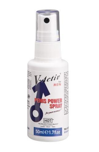 Возбуждающий спрей для мужчин V-activ Penis Power Spray, 50 мл