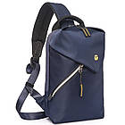 Сумка рюкзак синяя, фото 2
