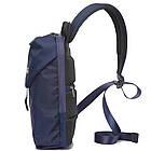 Сумка рюкзак синяя, фото 3