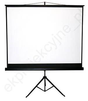 220x165 проекційний екран на тринозі портативний!