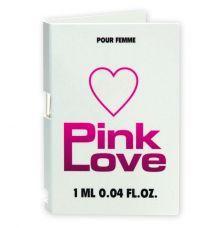 Женские духи с феромонами Pink Love, 1 мл