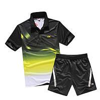 Спортивный мужской костюм для бадминтона и тенниса Li-Ning