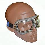 Защитные очки лётно-шоферские СССР (цвета оправы: серый, зеленый), фото 2