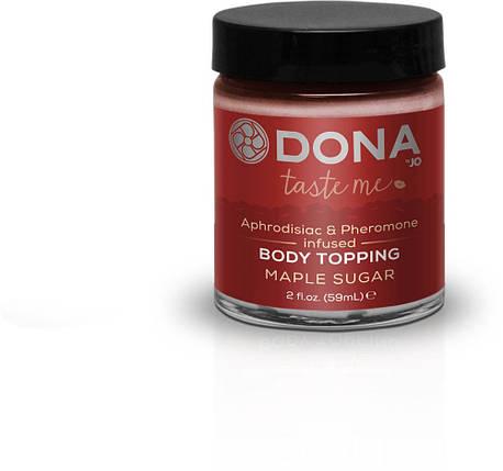 Карамель для тела Dona Body Topping Maple Sugar, 59 мл, фото 2