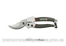 Сікатор з алюмінієвими ручками YATO, Ø=20 l=200мм [12/72]