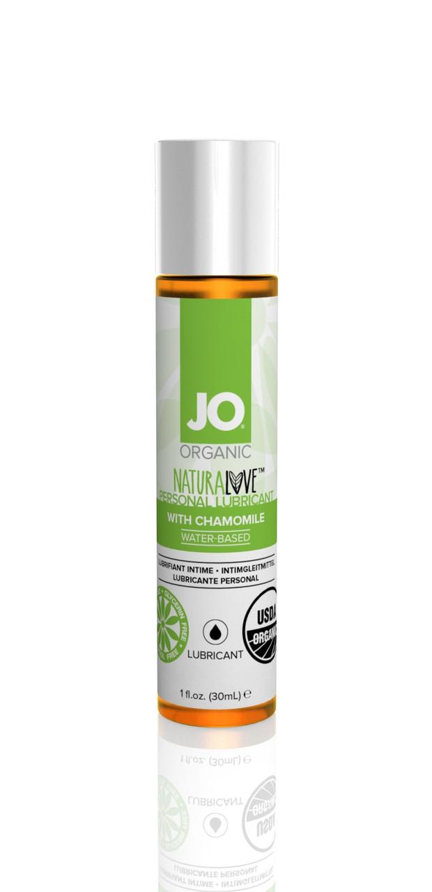 Лубрикант на водной основе System JO Naturalove Organic, 30 мл