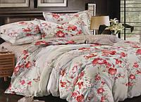 """Комплект постельного белья евро-размер """"Роза"""""""