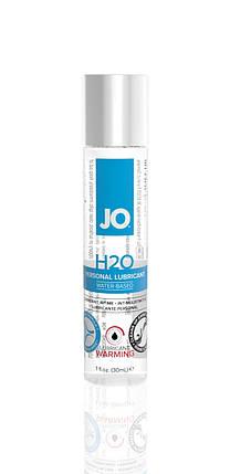 Возбуждающий лубрикант на водной основе System JO H2O Warming, 30 мл, фото 2