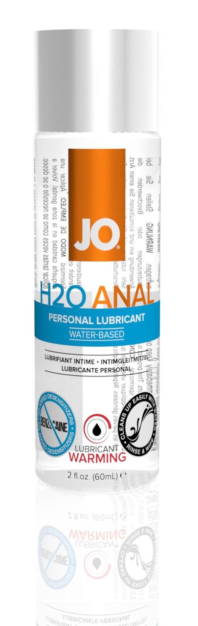 Лубрикант на водной основе System JO Anal H2O Warming, 60 мл