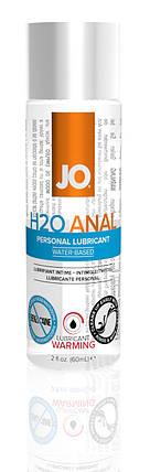 Лубрикант на водной основе System JO Anal H2O Warming, 60 мл, фото 2