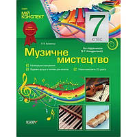 Мой конспект. Музыкальное искусство 7 класс (По учебнику Л. Г. Кондратовой)