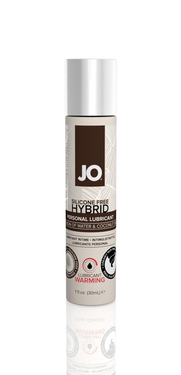 Согревающий лубрикант на комбинированной основе System JO Silicone Free Hybrid Warming, 30 мл