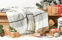 Плед шерстяной Wool TOSCANA 140х200см в ассортименте