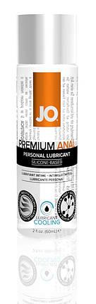 Лубрикант на силиконовой основе System JO Anal Premium Cooling, 60 мл, фото 2