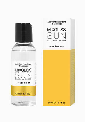 Лубрикант на силиконовой основе MixGliss SUN MONOI, 50 мл , фото 2