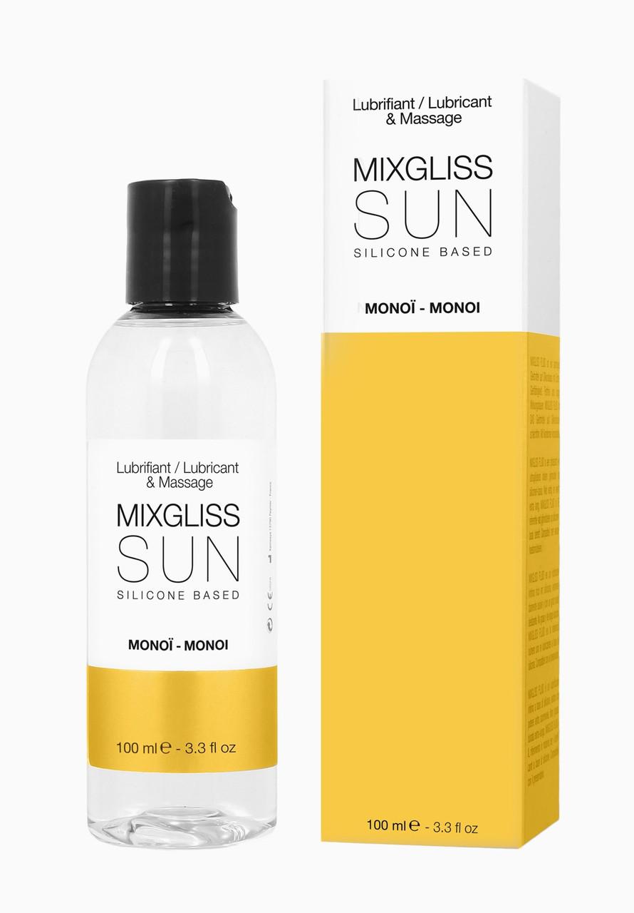 Лубрикант на силиконовой основе MixGliss SUN MONOI, 100 мл