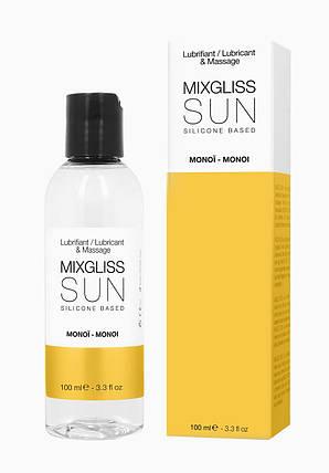 Лубрикант на силиконовой основе MixGliss SUN MONOI, 100 мл , фото 2