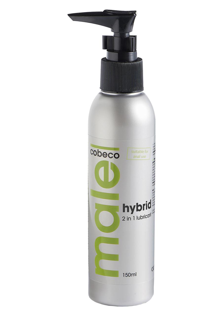 Лубрикант на гибридной основе 2 в 1 Male Cobeco Hybrid Lube, 150 мл