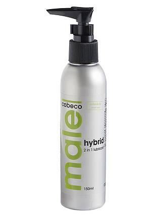 Лубрикант на гибридной основе 2 в 1 Male Cobeco Hybrid Lube, 150 мл , фото 2