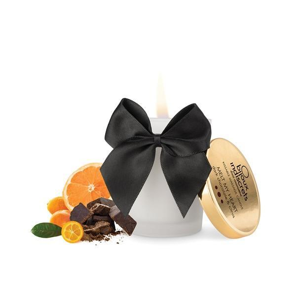 Массажная свеча Melt My Heart шоколад и цитрус, 70 гр