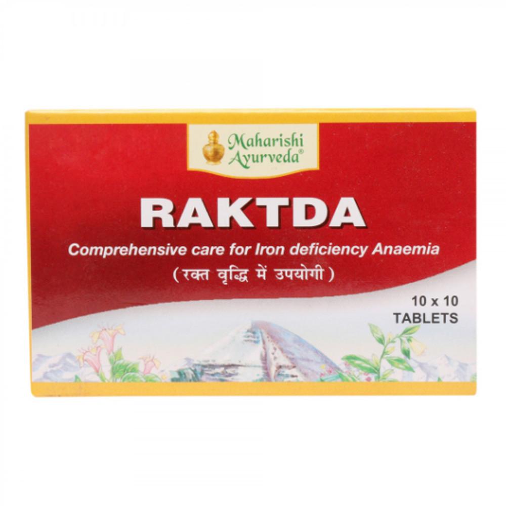 Рактда (Raktda, Махариши Аюрведа) от анемии