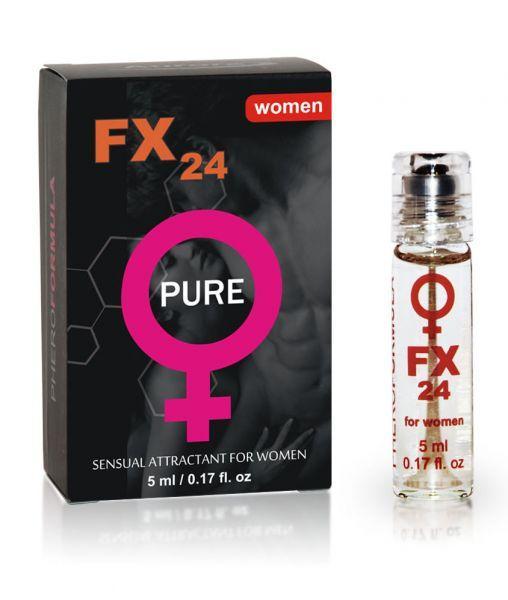Духи с феромонами женские FX24 PURE, for women (roll-on), 5 мл