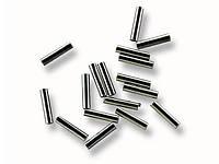 Обжимные трубки 1 мм 20шт