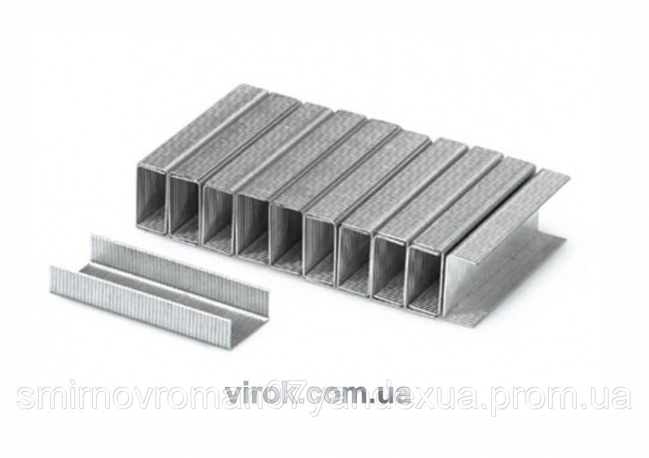 Скобы для степлера YATO 6 х 11.2 х 0.7 мм 1000 шт