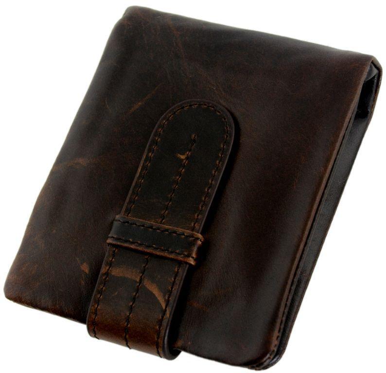Кожаное портмоне TRAUM 7110-59, коричневый