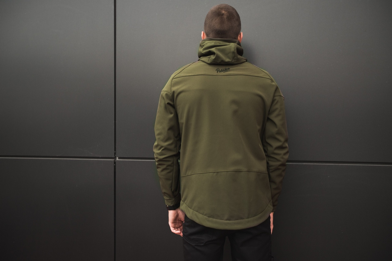 Куртка Pobedov Soft Shell Jacket Khaki (осінь-весна)  продажа a6f905e5caf9d