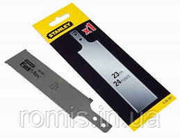 """Полотно запасне з 2 відрізними краями STANLEY для міні ножовки 0-20-331; 23 зуб/1"""""""