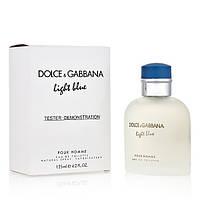 3375cc64e1f5 Мужская туалетная вода Dolce&Gabbana Light Blue pour Homme (тестер lux) edt  125 ml реплика