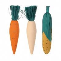 Trixie набор деревянных игрушек для грызунов 10см, 3шт