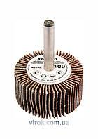 Круг шлифовальный лепестковый для дрели YATO 40 х 20 х 6 мм К80