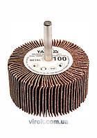 Круг шлифовальный лепестковый для дрели YATO 60 х 30 х 6 мм К40