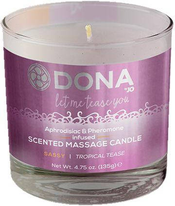 Масажна свічка DONA Tropical Tease SASSY, 135 г, фото 2