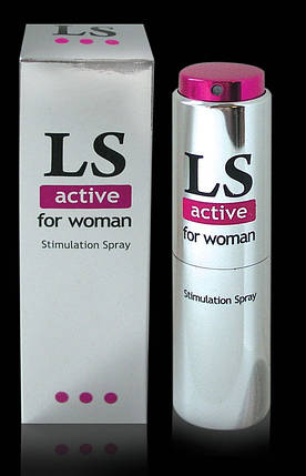 """Lovespray active"" спрей для женщин (стимулятор), 18 мл , фото 2"