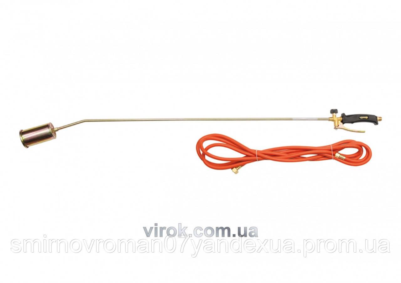 Газовий пальник VOREL L= 1315 мм з шлангом l= 5 м [8]